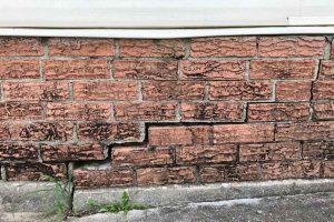 Foundation Cracking
